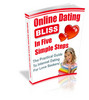 Thumbnail Online dating bliss in 5 steps