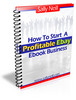 Thumbnail Start a profitable ebay ebook business