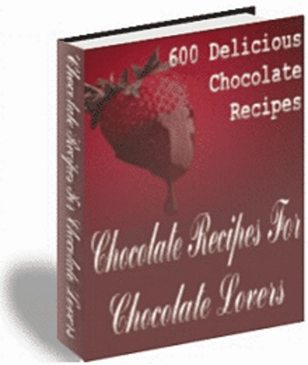 Product picture 600 mouthwatering chocolate recipes