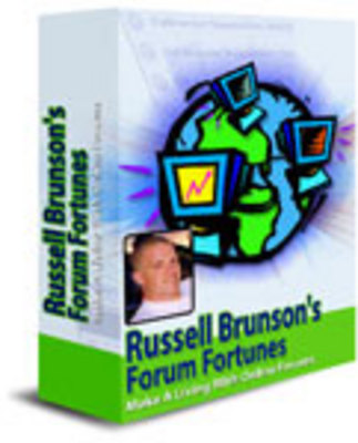 Product picture Forum fortunes with resale rights