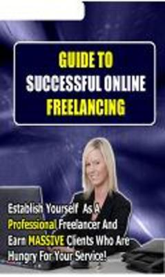 Product picture Guide to successful online freelancing