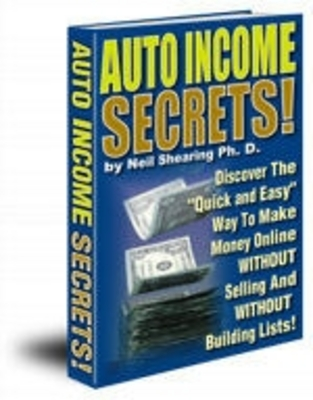 Product picture Auto Income Secrets