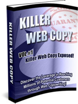 Product picture Killer Website Copy